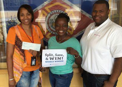 2016 Split Save and Win Weekly Winner 1