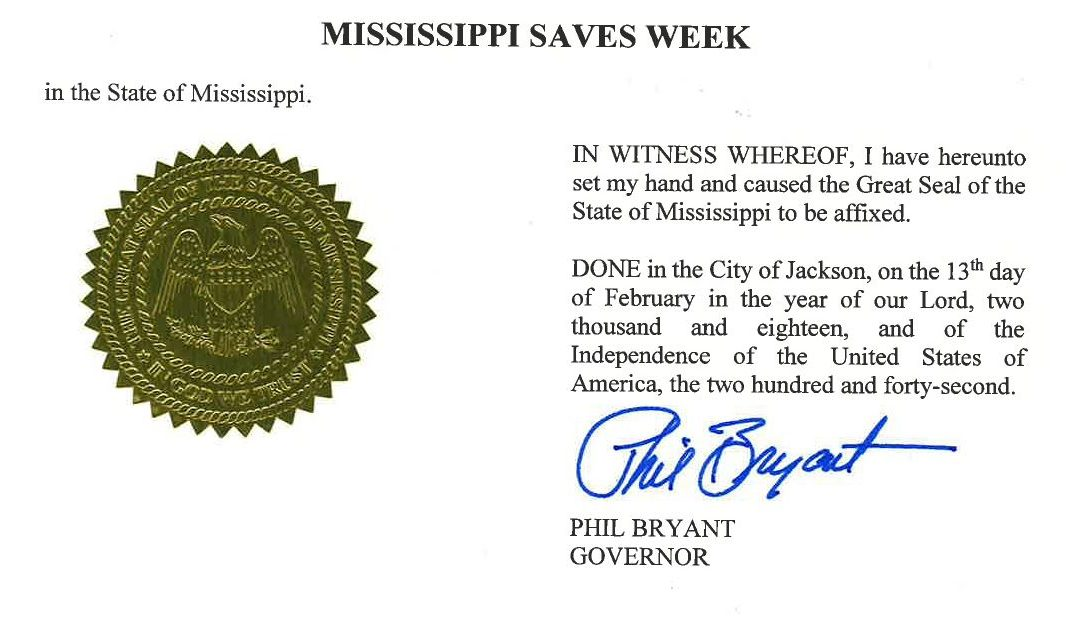 Arkansas and Mississippi Participate in America Saves Week